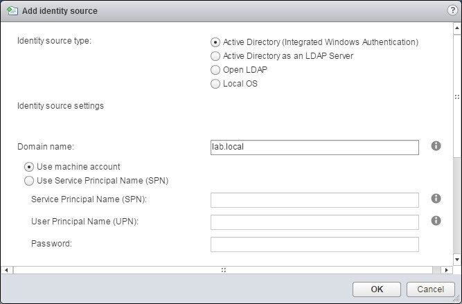 پیکربندی، مدیریت احراز هویت در اکتیو دایرکتوری (Active Directory)