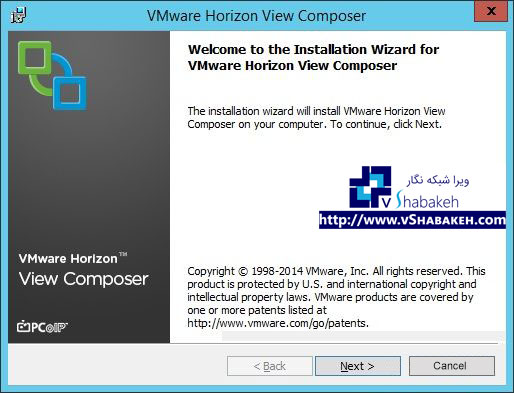راه اندازی Horizon View – Composer Server