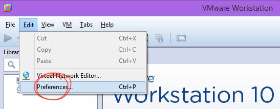 نصب VMware Workstation - تنظیمات پیشرفته