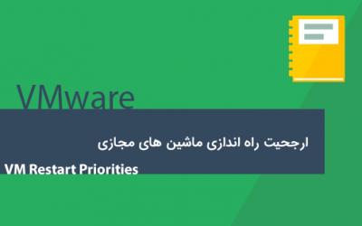 ارجحیت راه اندازی ماشین های مجازی – VM Restart Priorities