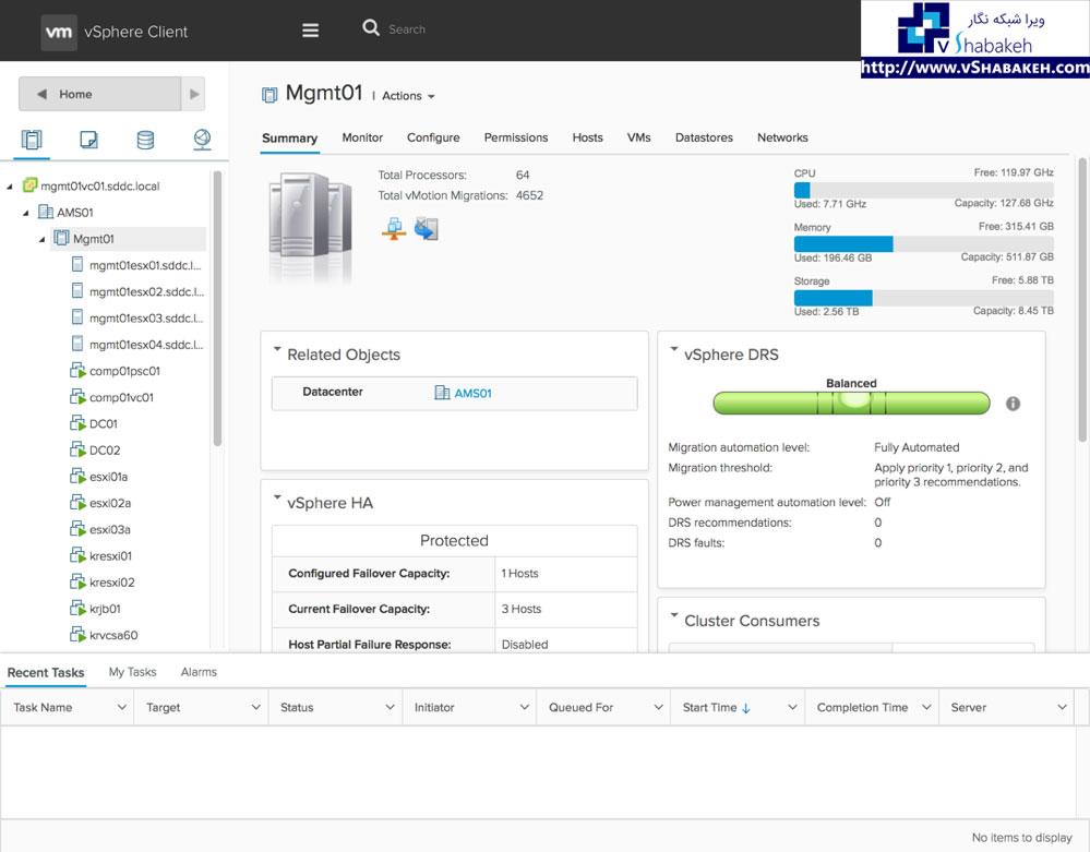 قابلیت های جدید VMware vSphere نسخه 6.5