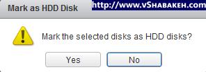 برچسب دیسک ها در VMware vSphere | اخطار اطمینان از صحت انتخاب